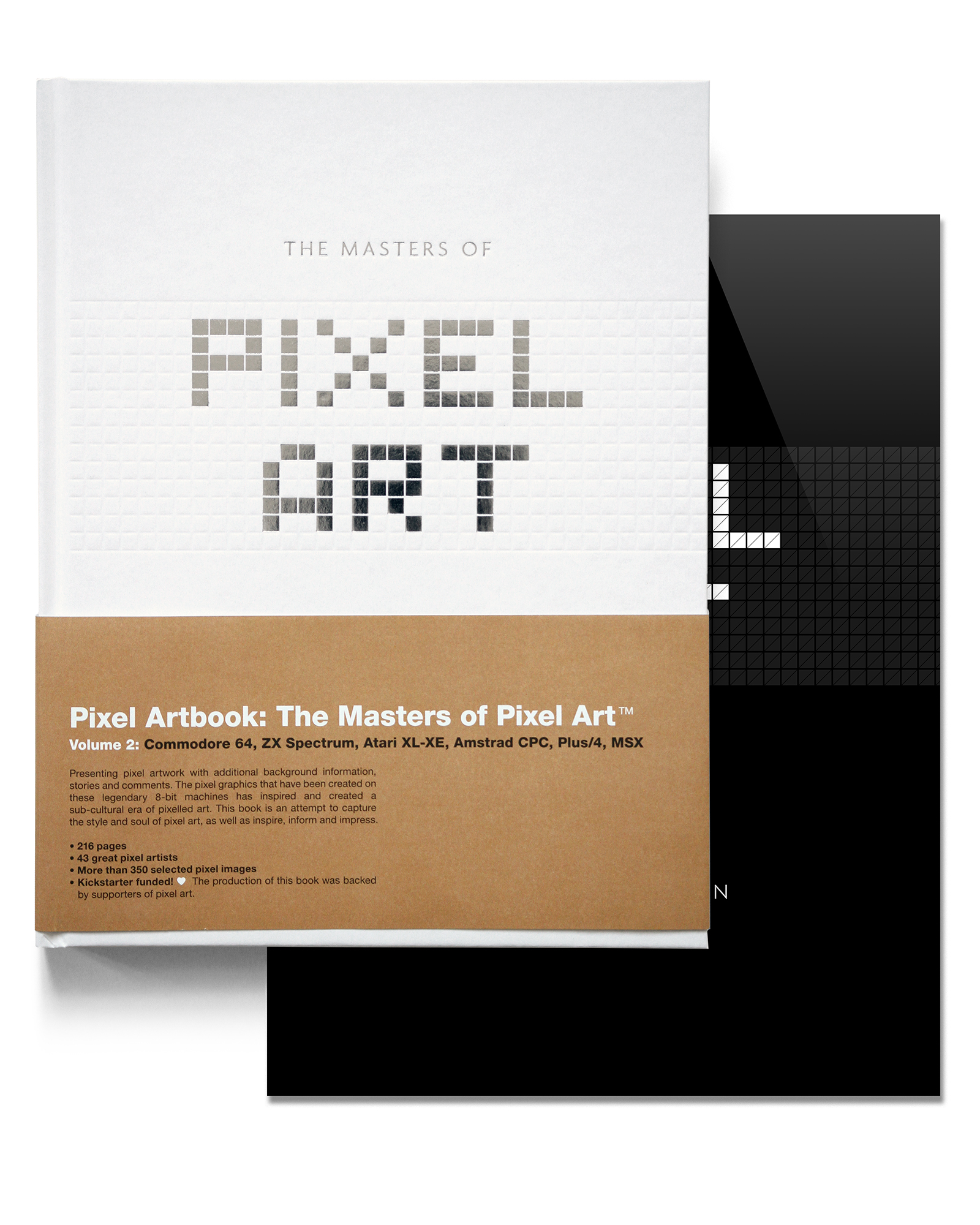 Pack: The Masters of Pixel Art - volume 2 & the poster collection